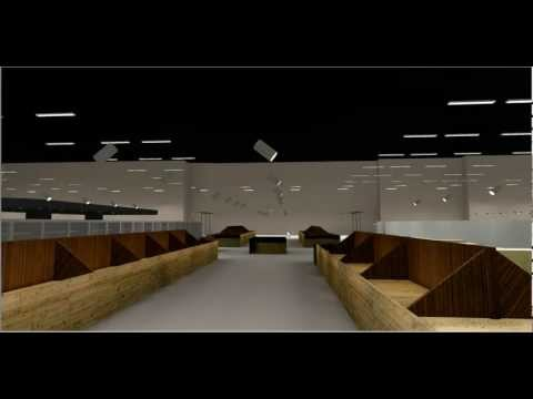 3D Architectural Supermarket Lighting Design.MP4
