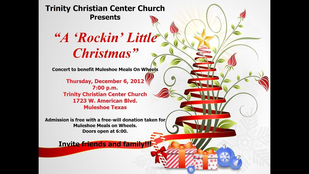 Rockin\' Little Christmas Concert at Trinity Christian Center ...
