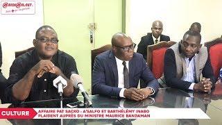 Affaire Pat Sacko : A'salfo et Barthélémy Inabo plaident auprès du ministre Maurice Bandaman