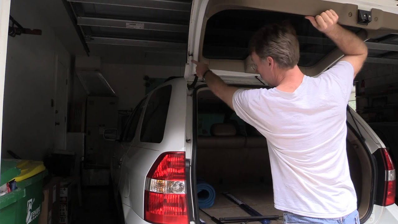 2002 Acura Mdx Hatch Lifter Replacement Youtube