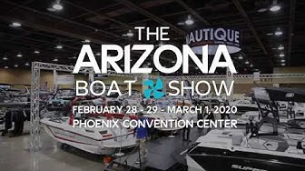 2020 Arizona Boat Show February 28-29 + March 1, 2020 at the Phoenix Convention Center