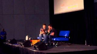 Ryan Robbins singing Hallelujah at Sydney Armageddon