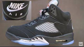 air jordan 5 black metallic 2016 retro shoe detailed review nike air on the back