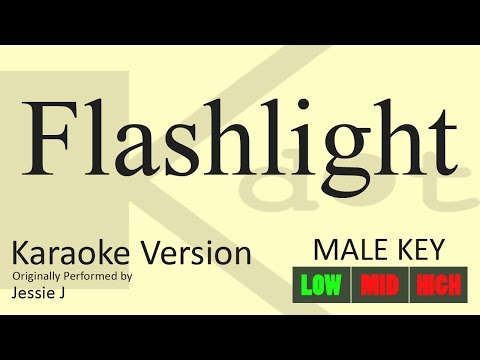 Jessie J - Flashlight Karaoke (Male Key | Low)