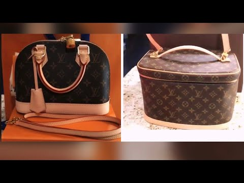 Louis Vuitton Alma BB and Nice Vanity