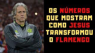 Flamengo, com Jesus, marca três para cada gol que leva. Antes era 1,67 por um no Brasileirão.