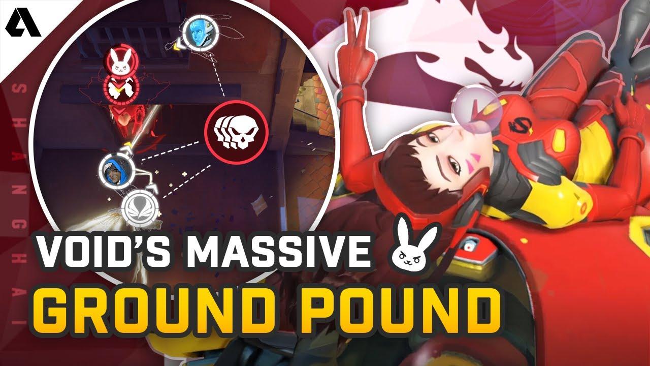Void's Massive D.Va Ground Pound - Pro Overwatch Micro Plays