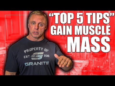 5 Methods to Build Muscle and Feel More powerful