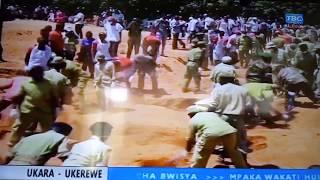 MAJONZI: Hivi ndivyo waliofariki ajali MV Nyerere walivyozikwa
