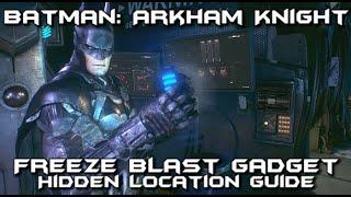Batman Arkham Knight - Freeze Blast Secret Gadget Location Guide