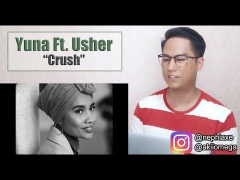 Yuna - Crush ft  Usher | SINGER REACTS
