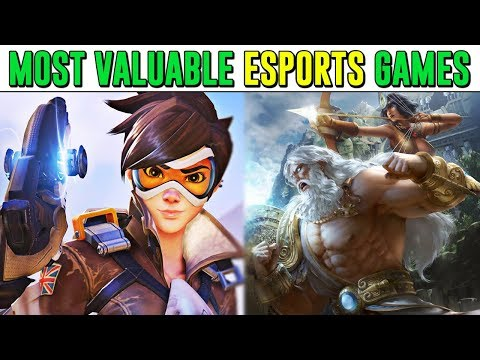 10 Most VALUABLE Video Games In The ESPORTS Industry!