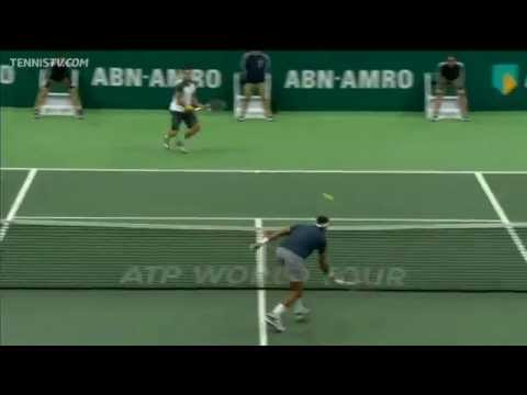 Gulbis Wins Lengthy Rally With Forehand Lob