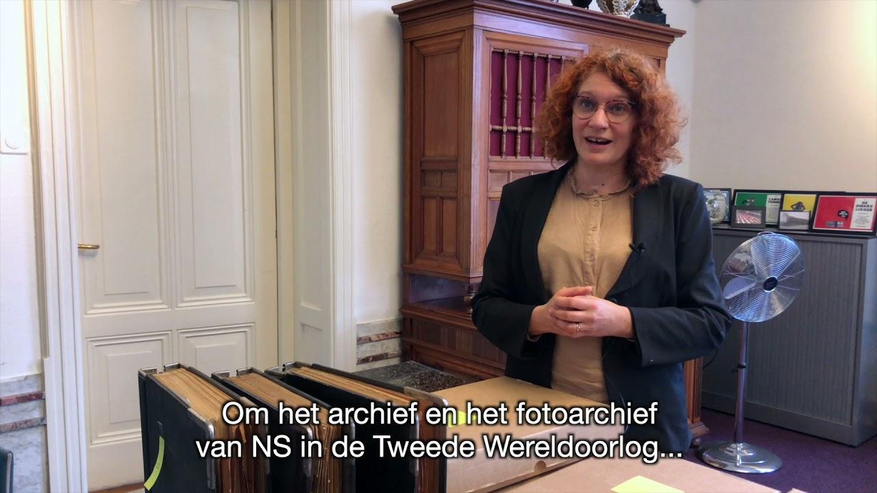 Spoorwegmuseum draagt NS archief WOII over