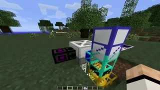 Baumfarm vollautomatisch Gummi und Holz ohne Ende Minecraft Tekkit Lite FTB Tutorial
