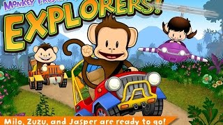 Monkey Preschool Explorers Education Android İos Free Game GAMEPLAY VİDEO