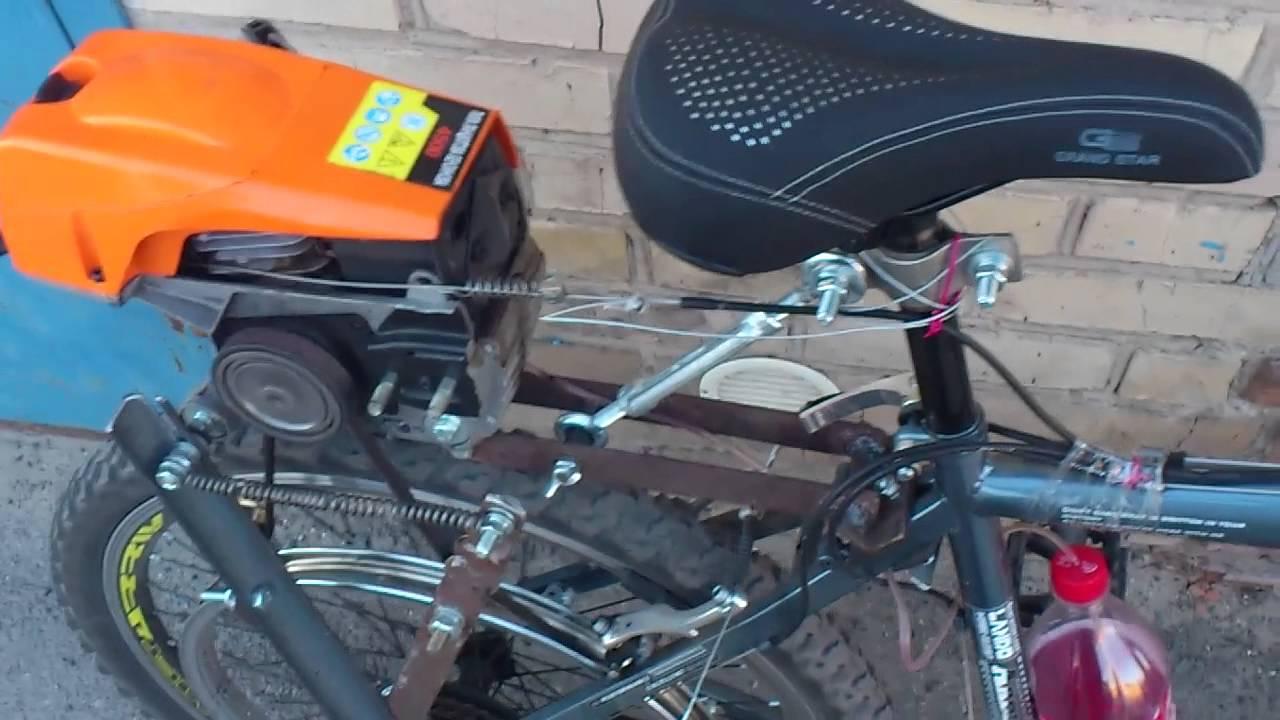 Бензопила для велосипеда своими руками 749