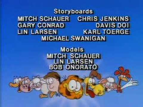 Garfield and Friends Season 2 credit sequence