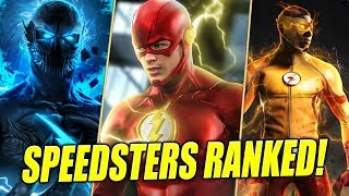The Flash: Speedsters RANKED!