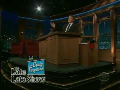 Late Late Show with Craig Ferguson 12/8/2008 Chi McBride, Seal