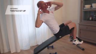 Sit up bench RS Porto - www.fitnessdelivery.nl