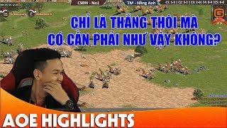Aoe Highlight   Mãn nhãn trước cách Chim Sẻ giành chiến thắng trong kèo 22 Shang thuần tiễn.