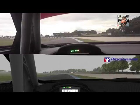 Christopher Mies VS iRacing Audi R8 LMS  Compare @ Pillips island