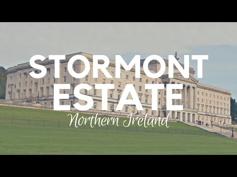STORMONT Parliament - Assembly and Stormont Estate in Belfast
