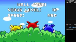 Dr. Mario GBA Level 1-10 Speedrun (12:18)