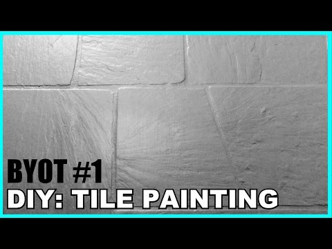 DIY Tile Painting (BYOT #1)