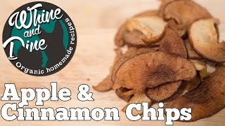 Apple and Cinnamon Snack Treats  Homemade Dog Chips