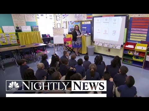 Teachers Use Online Crowdfunding To Support Classroom | NBC Nightly News