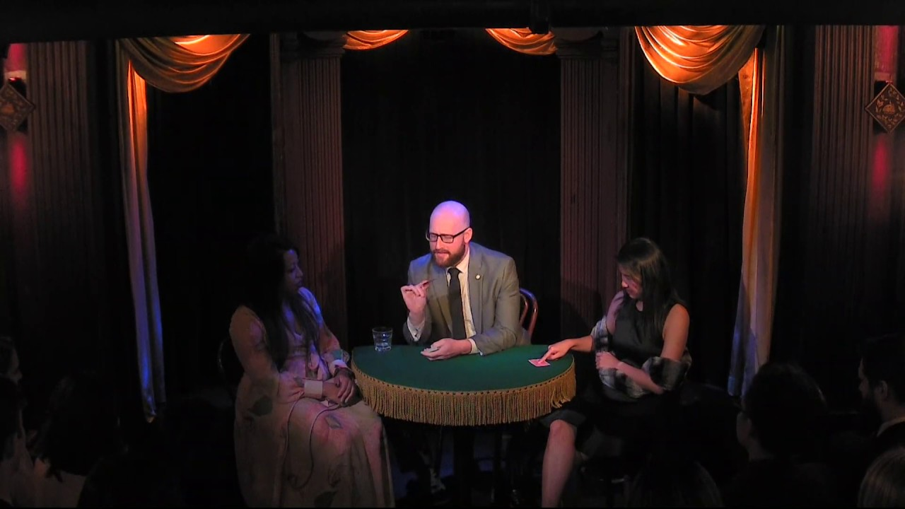 Performing at the Magic Castle in Hollywood, CA