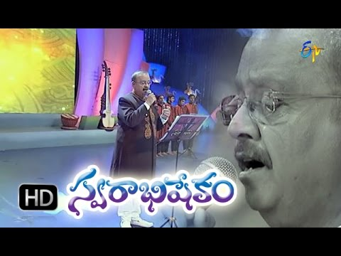 Chakravarthyki Veedhi Song - SP.Balasubrahmanyam in ETV Swarabhishekam 25th Oct 2015