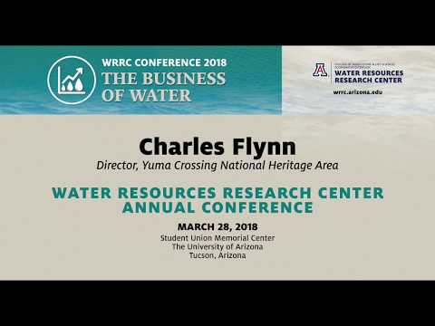 WATER AND ECONOMIC OPPORTUNITY – WRRC Conference 2018