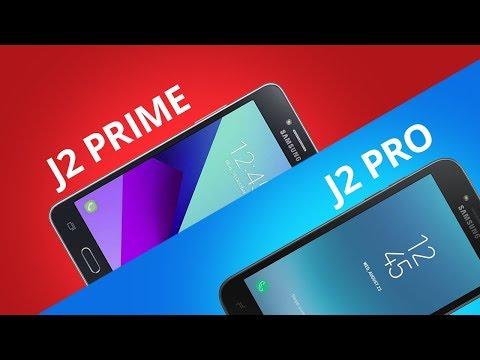 Samsung Galaxy J2 Prime vs Galaxy J2 Pro [Comparativo]