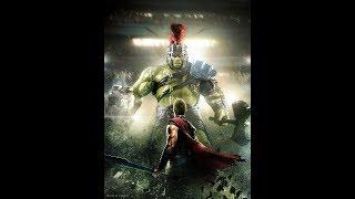 Hulk makes fun of thor in ragnarok  -English! Big child! Baby arms!
