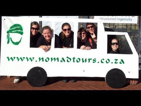 Nomad Tours Team at the Community Chest Twilight Team Run 2012