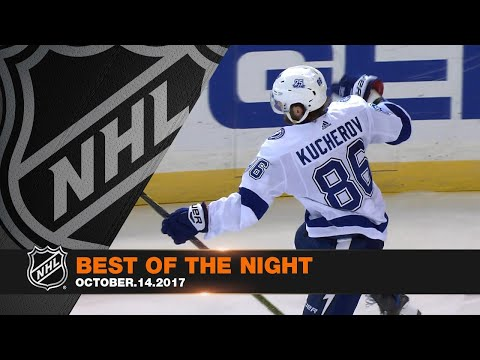 Georges St-Pierre headlines a great night of NHL action