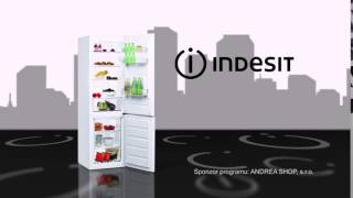 Kombinovaná chladnička s mrazničkou Indesit