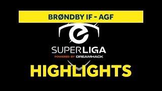 eSuperliga: Highlights i semifinalen mod AGF
