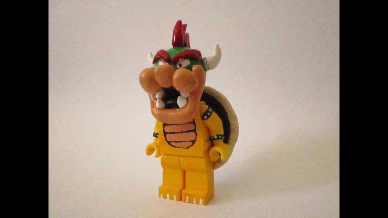 Custom LEGO Bowser - YouTube