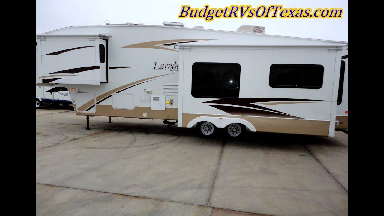 laredo 315 rl fith wheel travel trailer for sale keystone fifth wheel travel trailer [ 1280 x 720 Pixel ]