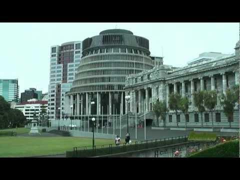 Biggest cities of New Zealand: Auckland, Wellington, Christchurch and Dunedin