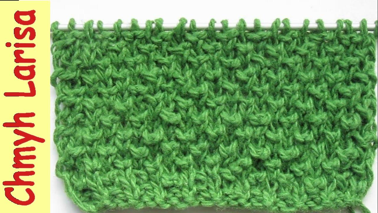 ▶️ Узор для вязания ВАРЕЖЕК спицами. Узоры спицами. Вязание спицами для начинающих Larisa Chmyh №32
