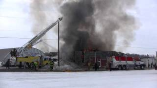 Lehigh Township Barn Fire