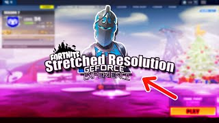 Easy Way to Get Stretched Resolution in Fortnite. (No file edit)