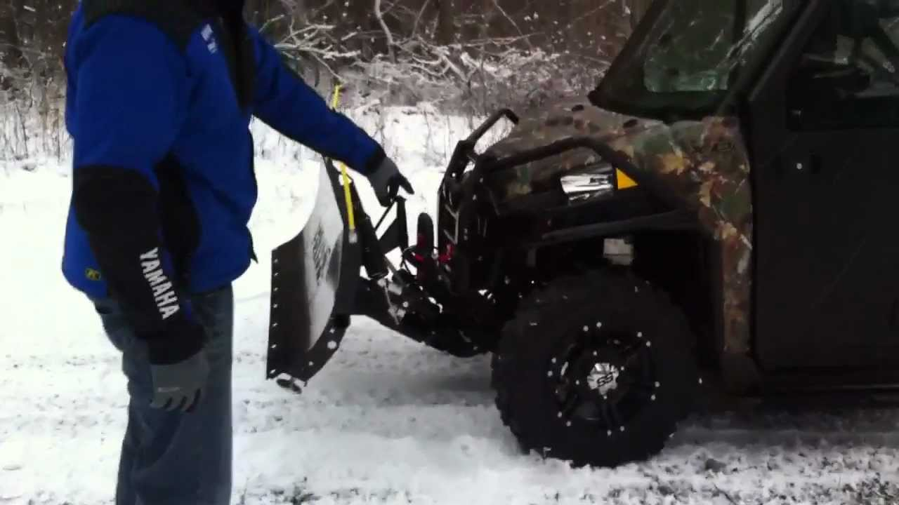 Polaris Ranger Xp >> New Polaris Ranger 900 XP w/cab enclosure, stereo, heater, plow and more - YouTube