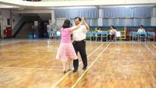 雨夜訴情 高雄市常春土風舞協會 示範教學影片 B013示範者為原編老師:孫瑞得老師、周家安老師 Kaohsiung Chang-Chuen Folk Dance Association