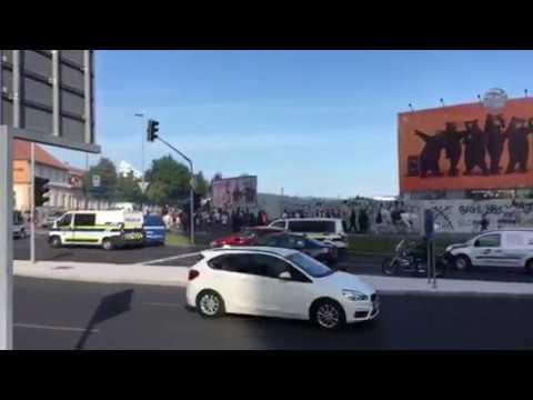 V Ljubljani številni navijači Marseilla